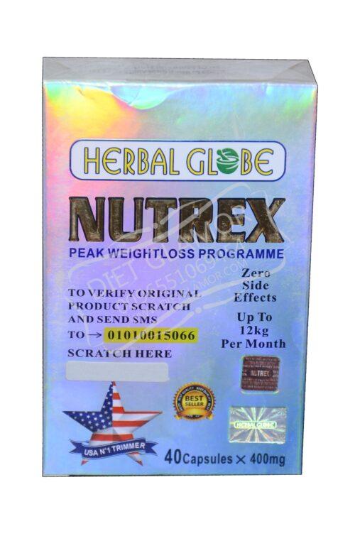 كبسولات هيربال جلوب نيوتريكس HERBAL GLOBE NUTREX